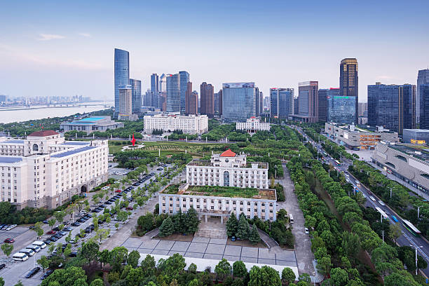 Beijing, China cityscape at the CBD – Foto