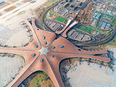 Beijing Daxing Airport Aerial View