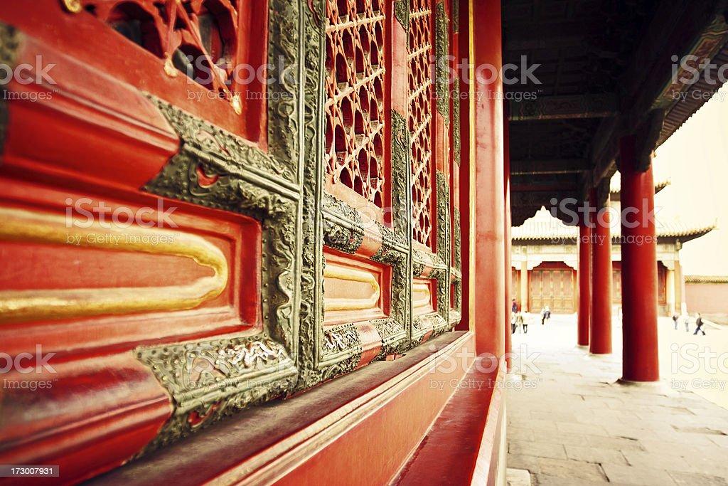 Beijing - Forbidden City royalty-free stock photo