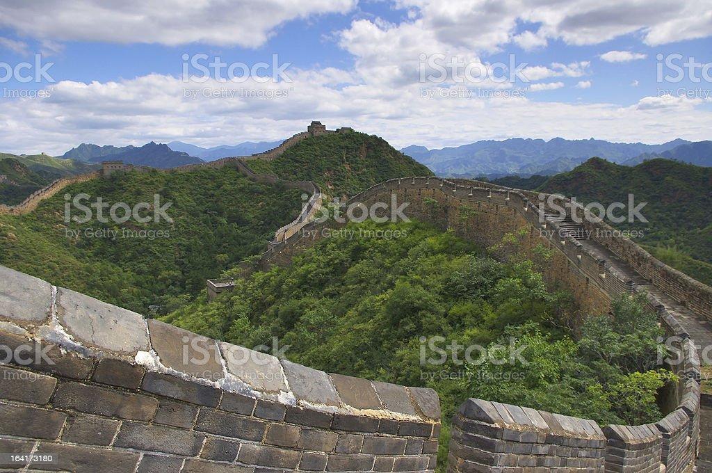 Beijing Great Wall royalty-free stock photo