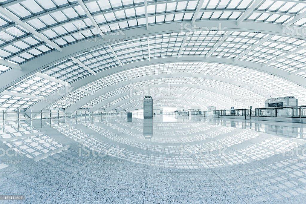 Beijing International Airport stock photo