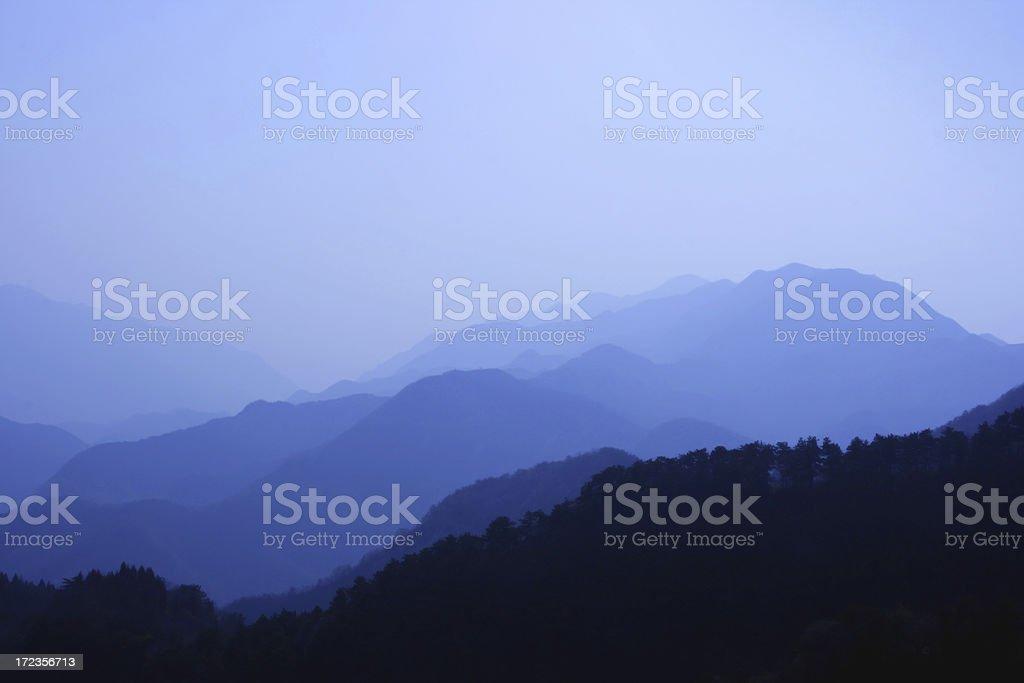 Beijing Mountains royalty-free stock photo