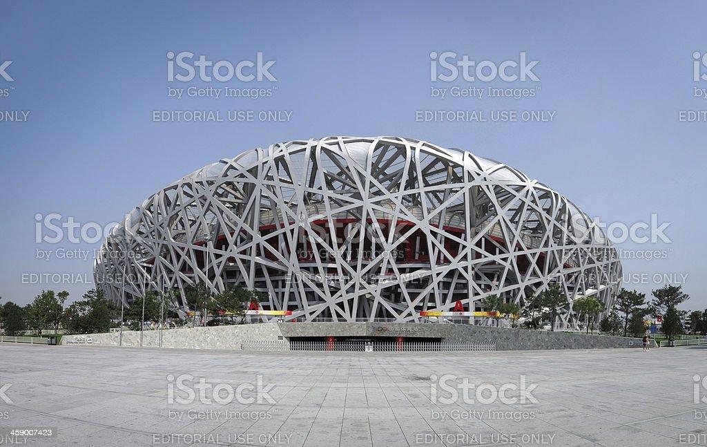 Beijing National Olympic Stadium 'Bird's Nest' - XXXLarge royalty-free stock photo