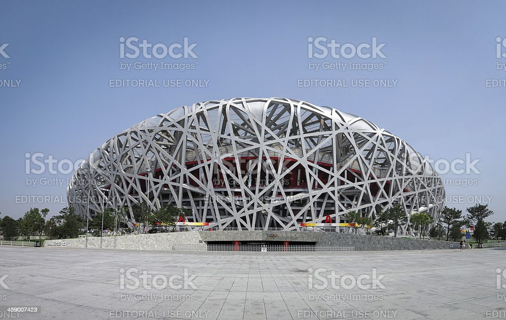 Beijing National Olympic Stadium 'Bird's Nest' - XXXLarge stock photo