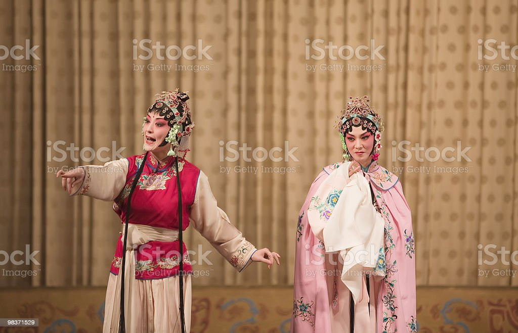 beijing opera royalty-free stock photo
