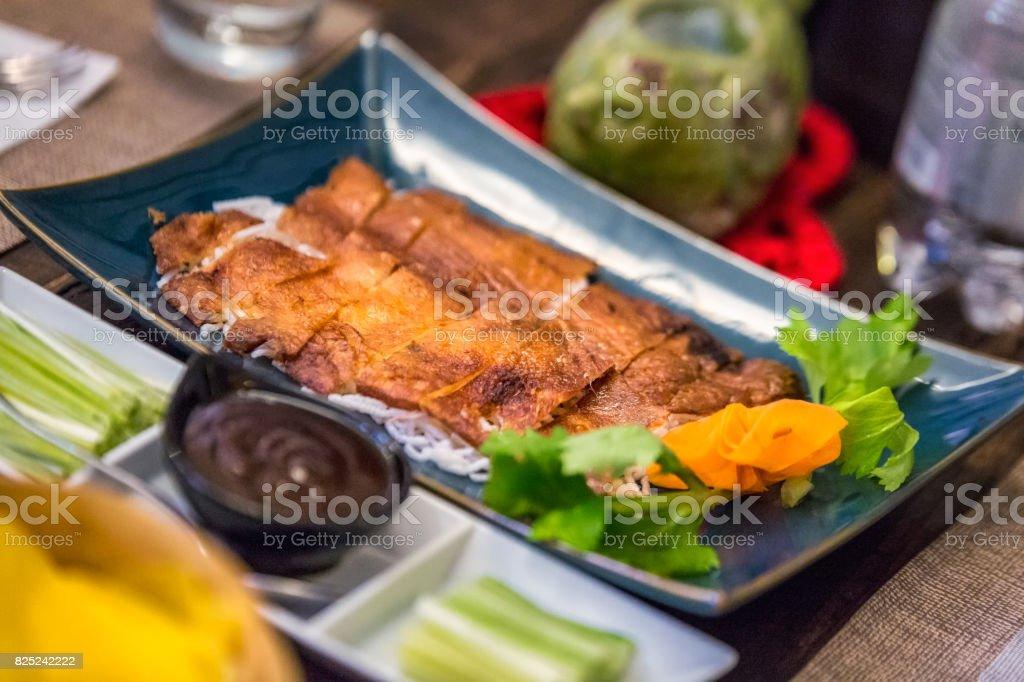 Beijing Roast Duck stock photo