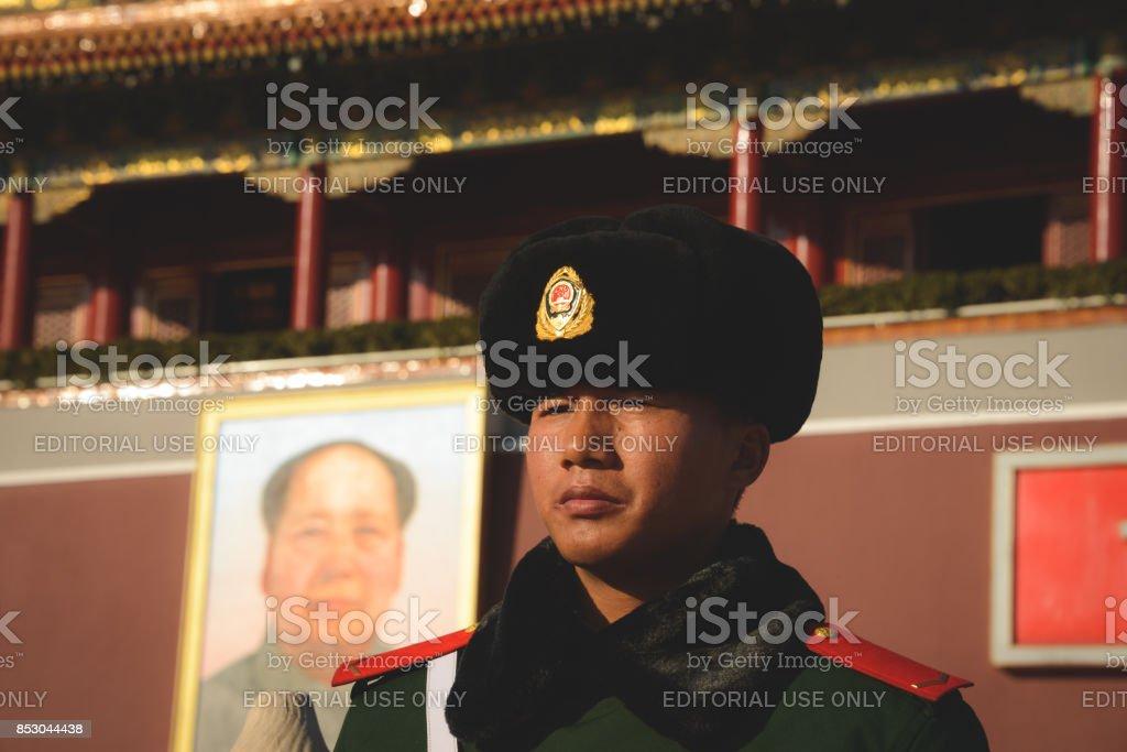 Beijing ROC Guard stock photo
