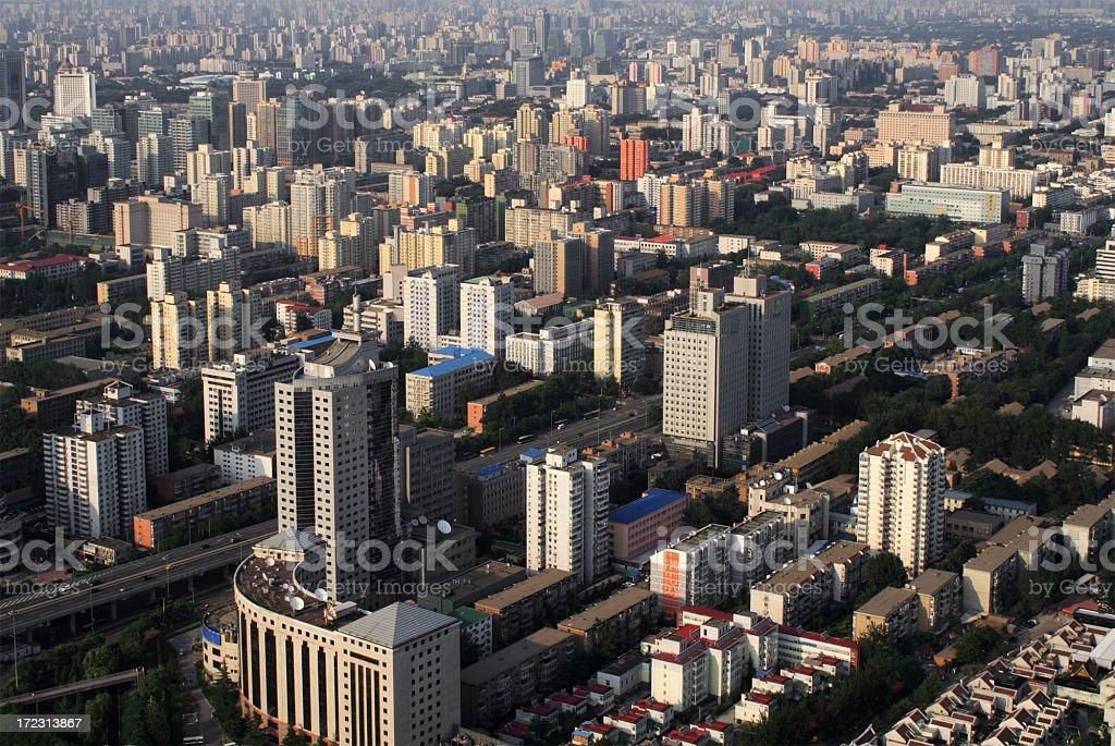 Beijing Skyline royalty-free stock photo