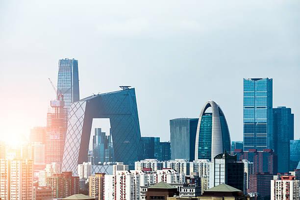 北京の街並み - 北京 ストックフォトと画像
