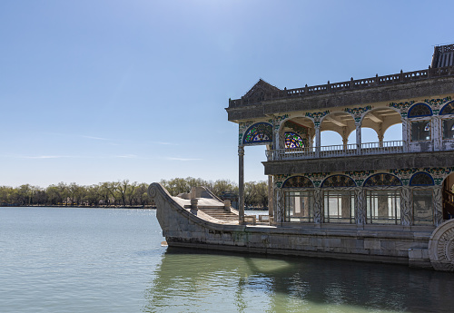 Beijing Summer Palace Marble Boat