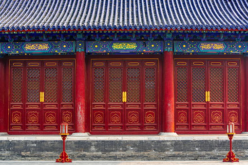 Beijing Temple of Heaven, Chinese traditional style building