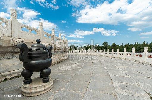 Beijing Temple of Heaven, Circular Mound Altar Platform square
