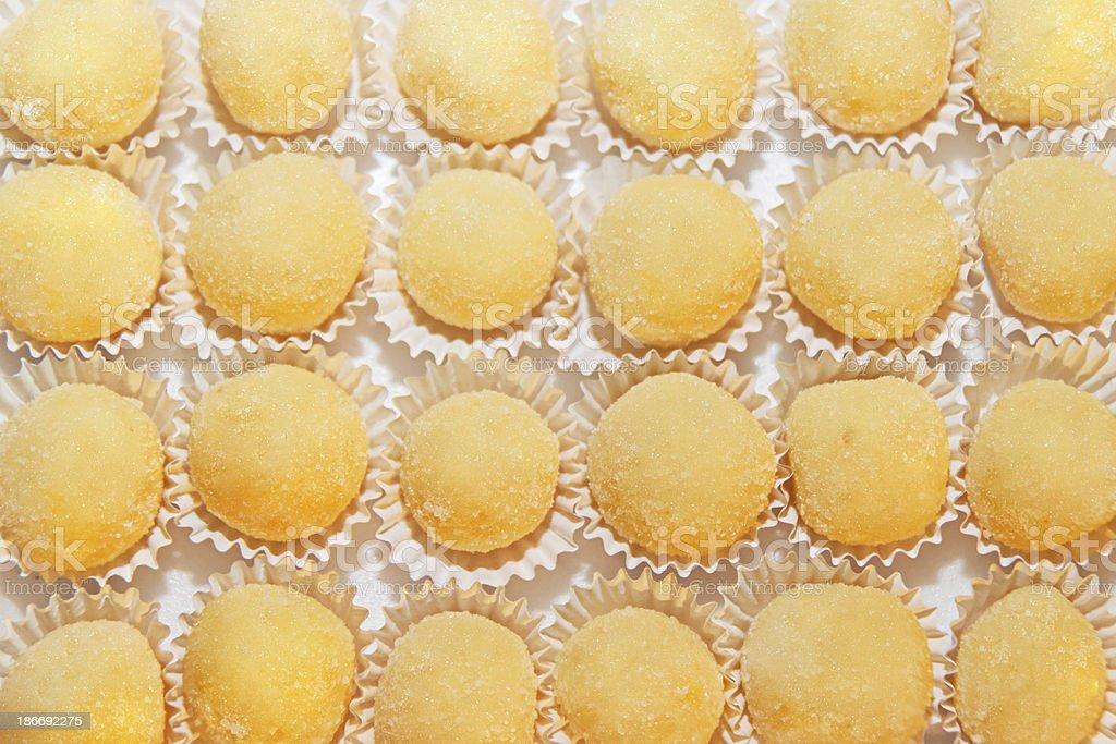 Beijinho - Brazilian candy stock photo