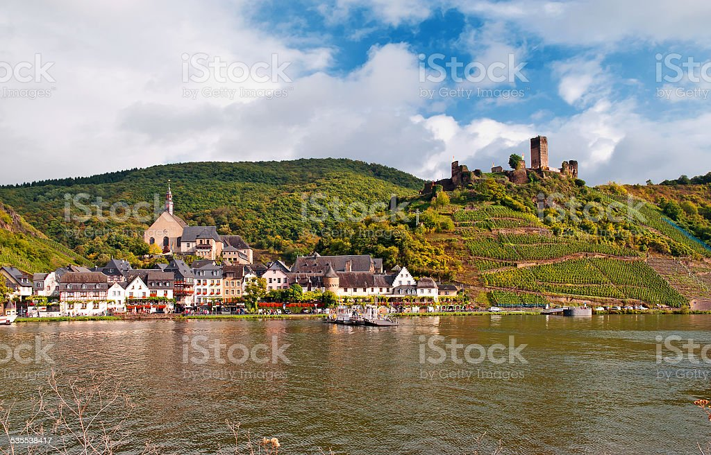 Beilstein an der Mosel stock photo
