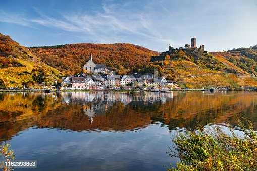 Mosel valley vineyards, Germany.