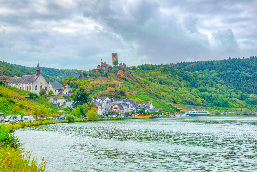 Beilstein town on Germany