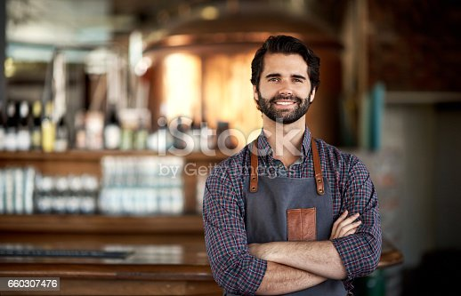 istock Being a bar owner has been a rewarding experience 660307476