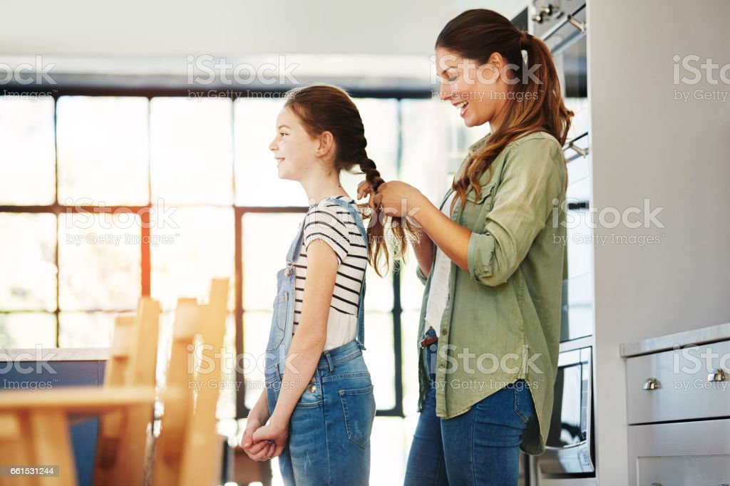 Being a full time mom is the greatest job ever stock photo