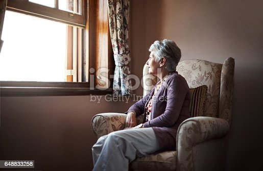 istock Being alone is something we all have to experience 648833258