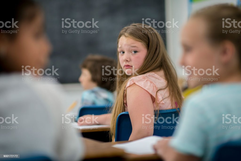 Being Bullied stock photo