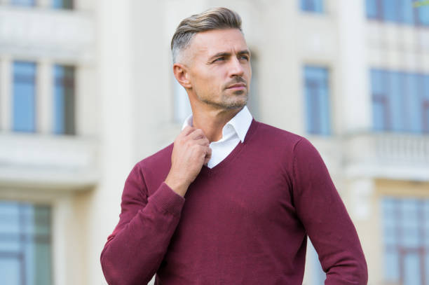 Being casual is matter of choice. Handsome man in casual style outdoor. Casual fashion trends. Wardrobe for everyday life. Feeling confident in clothes. Be casual be youself stock photo