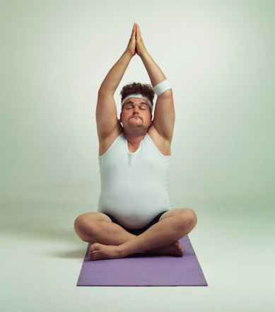 istock Being fit is easy especially with yoga 504654737