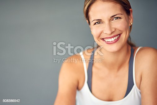 508386622 istock photo Being healthy is what makes me happy 508386542