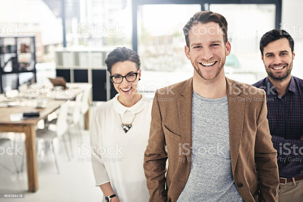 Being positive allows you to take full advantage of opportunities stock photo