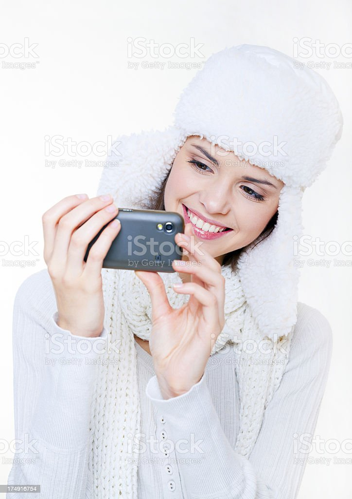 Being quirky with the camera royalty-free stock photo