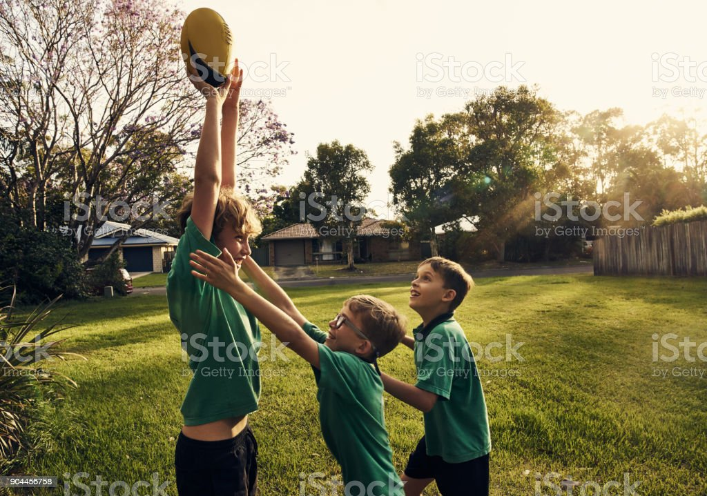 Being the eldest comes with an advantage! stock photo