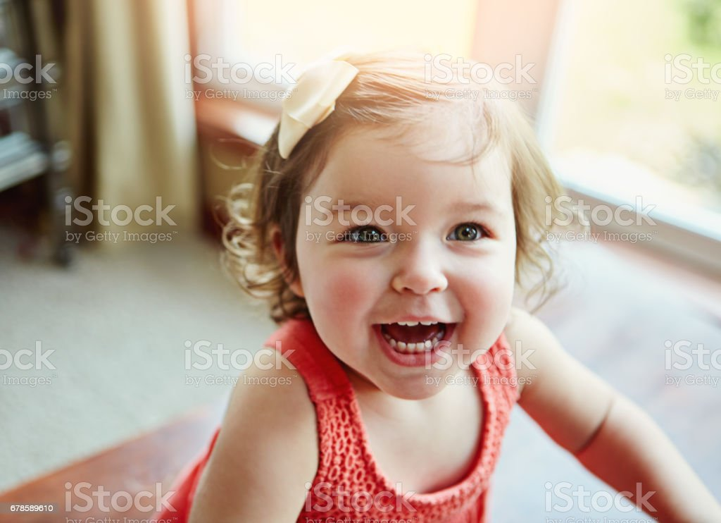 Being young means enjoying days full of fun stock photo