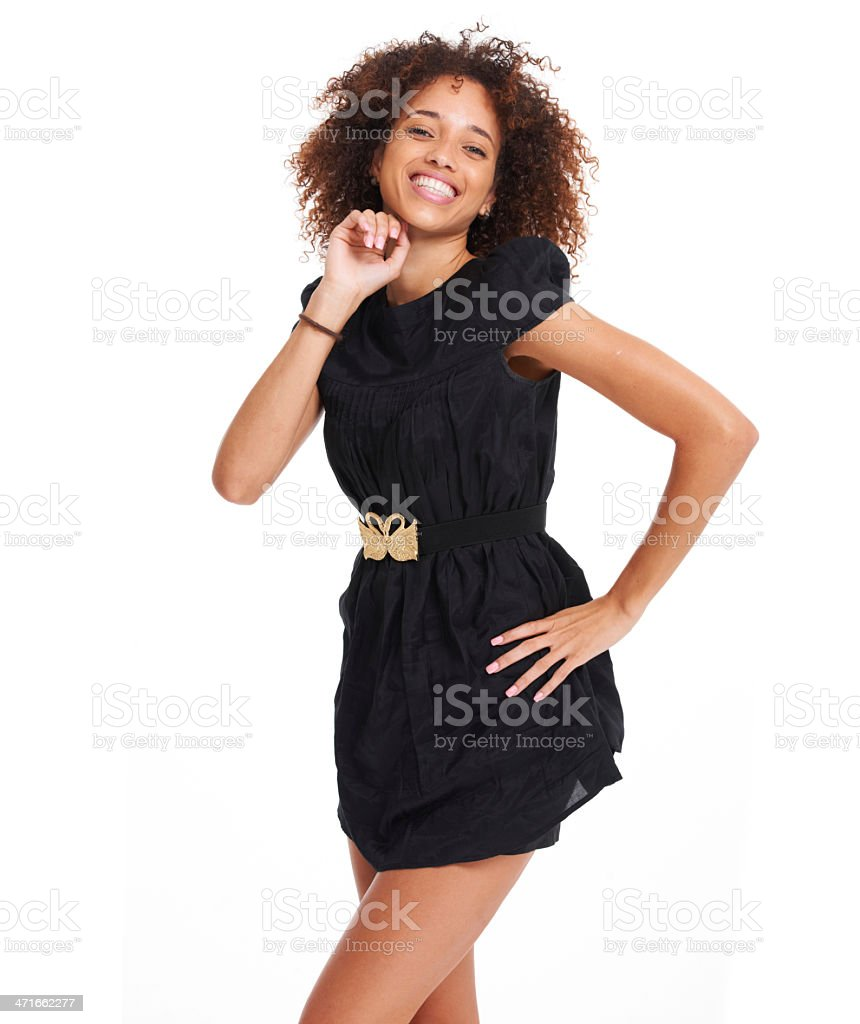 Being yourself is all about having fun royalty-free stock photo