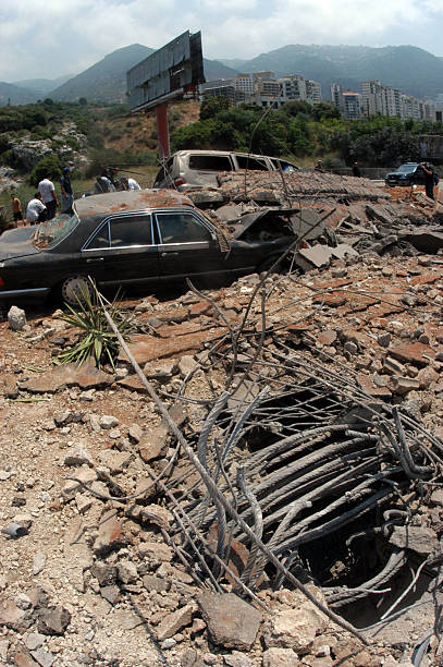 beirut bombed - beirut explosion 個照片及圖片檔