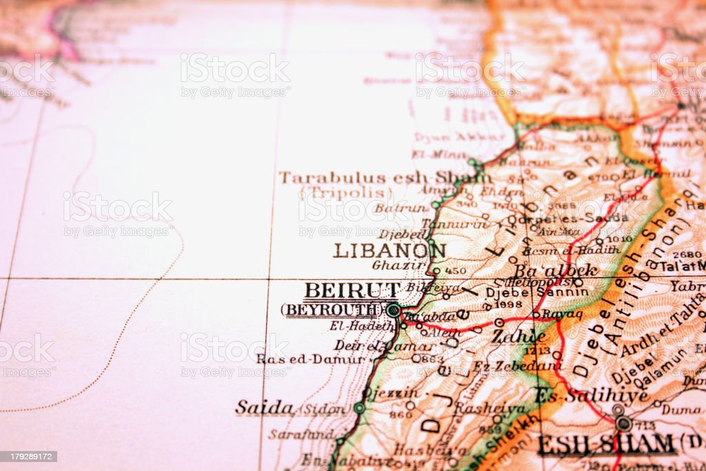 Beirut, Lebanon royalty-free stock photo