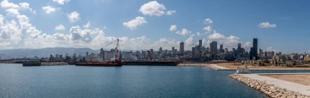 貝魯特港爆炸概述,黎巴嫩。 - beirut explosion 個照片及圖片檔