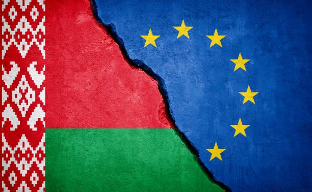 konflikt na białorusi i w unii europejskiej - białoruś zdjęcia i obrazy z banku zdjęć