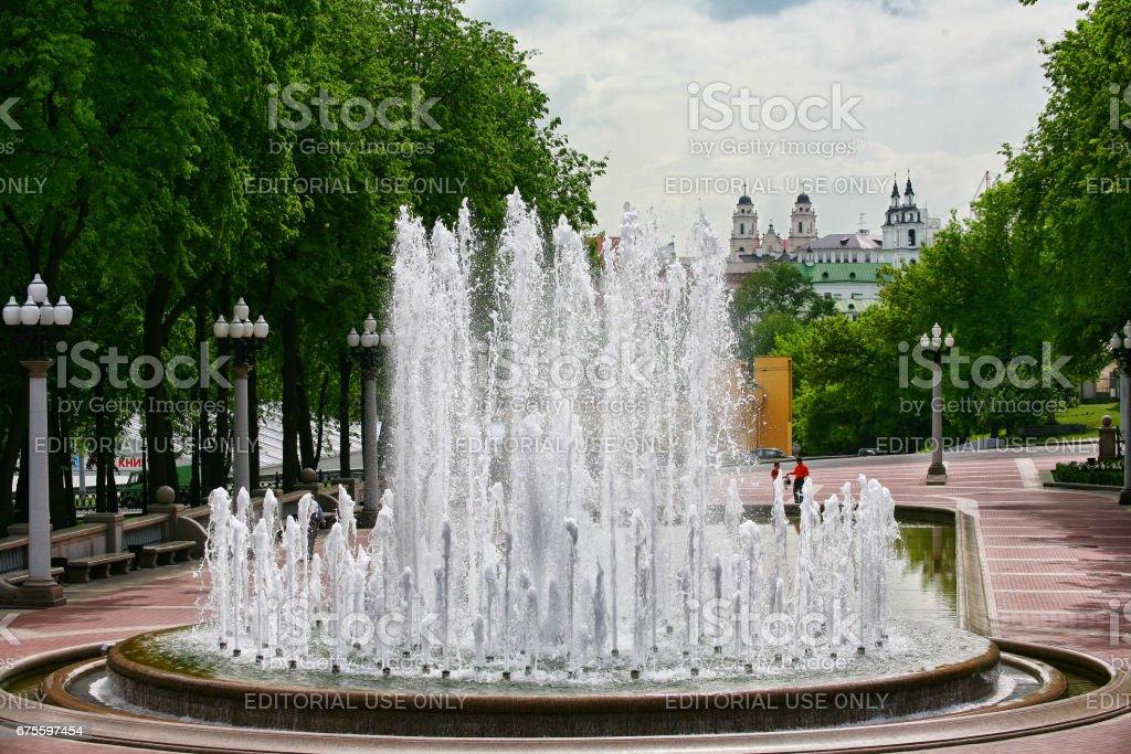 Belarus, Minsk, cityscape photo libre de droits