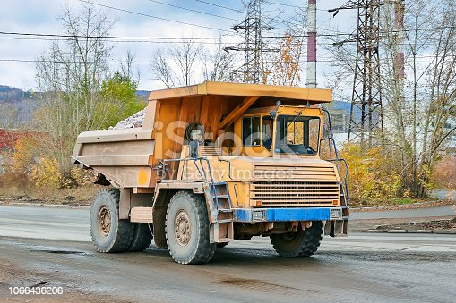istock BelAZ freight Right front 1066436206
