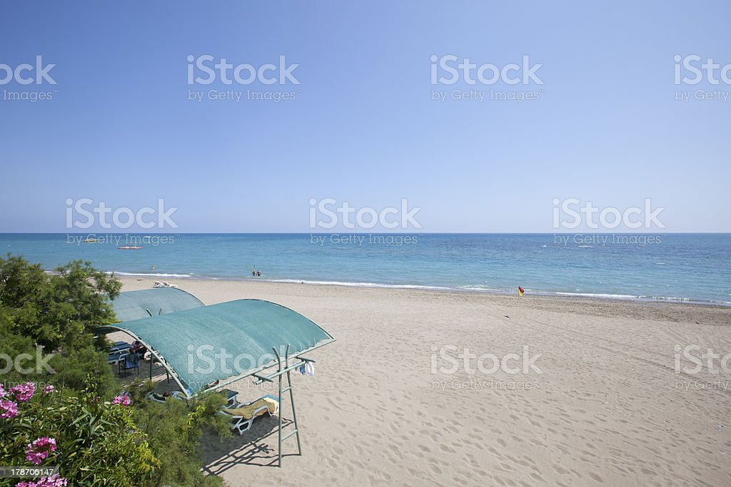 Belek Beach stock photo