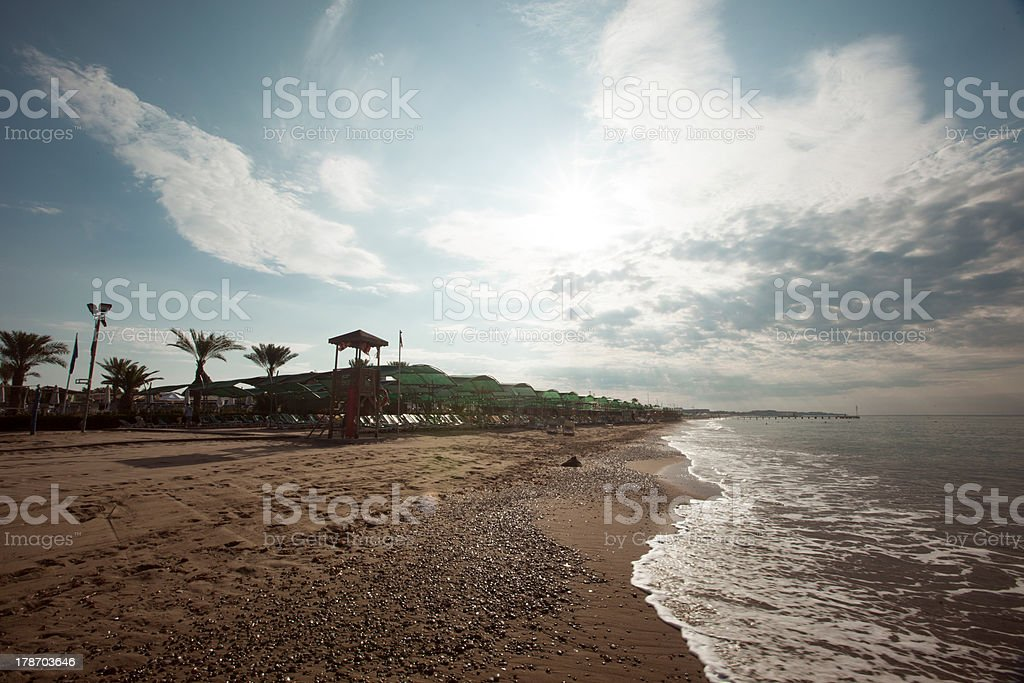 Belek Beaches stock photo