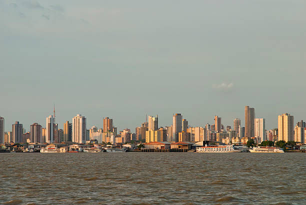 Belem do Para cityscape stock photo