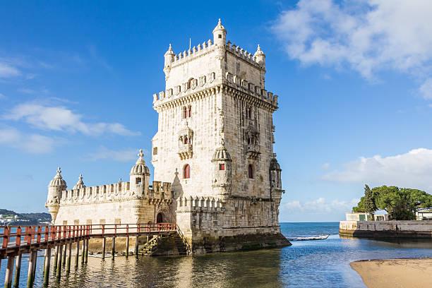 Belem Tower in Lisbon Portugal foto