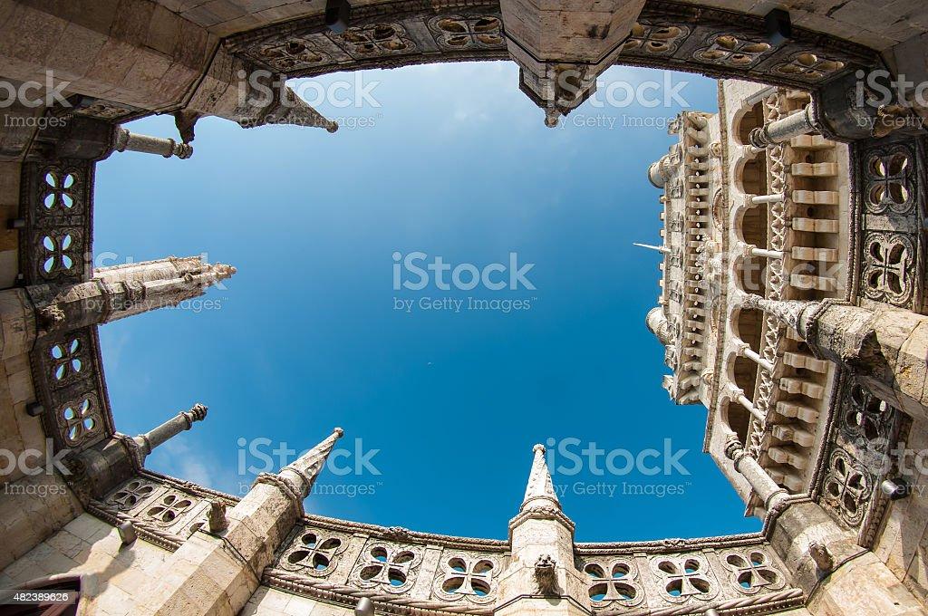 Belem Tower, Lisbon - Portugal stock photo