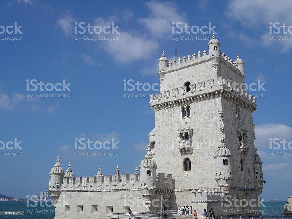 Belem tower2 royalty-free stock photo