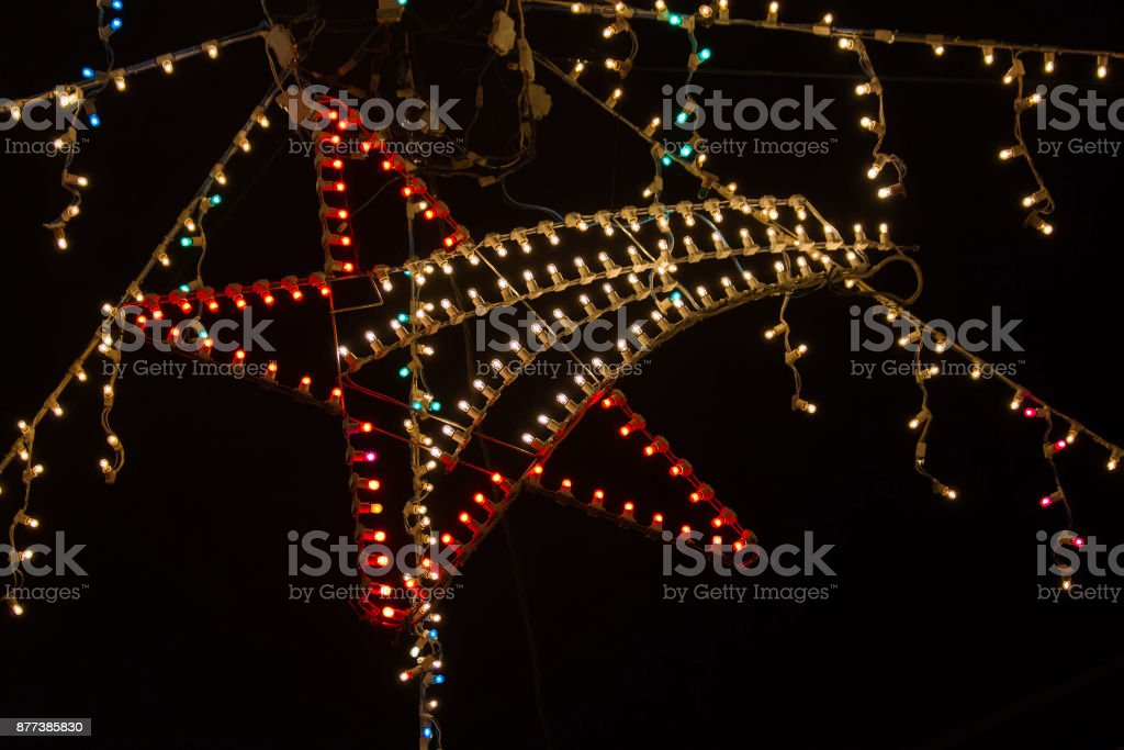 Stern Weihnachtsbeleuchtung.Belen Ist Stern In Weihnachtsbeleuchtung Estrella De Belen De