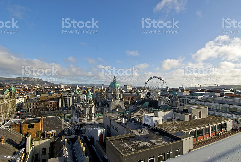 Belfast City Centre royalty-free stock photo