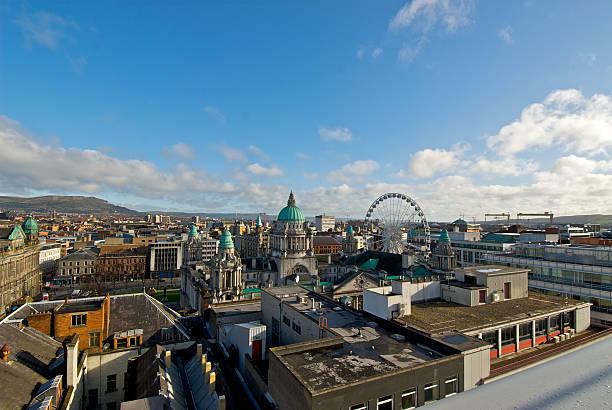 Centro de la ciudad de Belfast - foto de stock