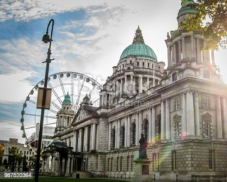 Historic government building in Belfast