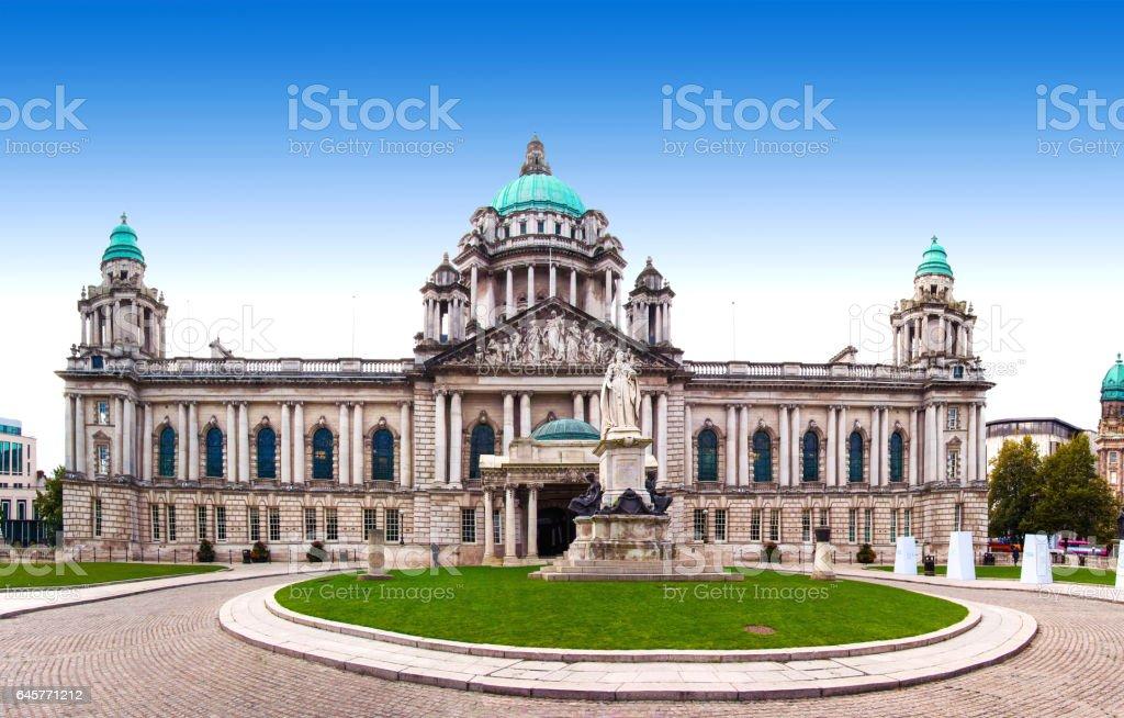 Rathaus von Belfast, Nordirland, Vereinigtes Königreich – Foto
