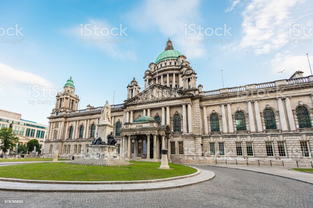 Belfast City Hall Northern Ireland UK stock photo